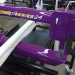 Nolton long arm quilting machine