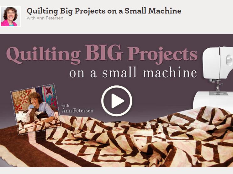 quilting on a regular machine