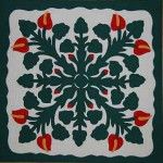 example of Hawaiian Applique