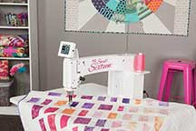 HQ Sweet Sixteen Quilting Machine