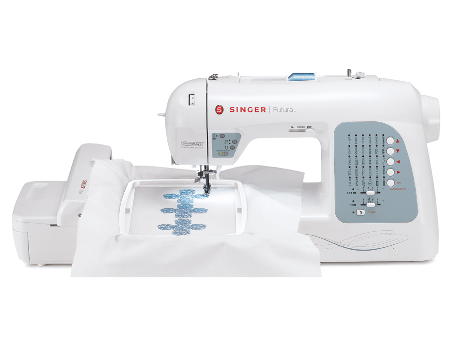 Singer Futura xl 400 Computerized Sewing Embroidery Machine