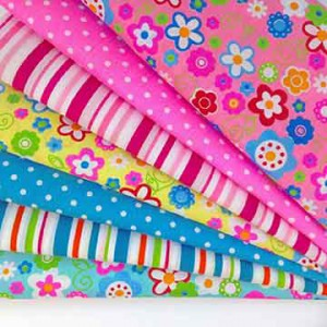 Children quilting fabric choice