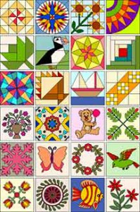 Easy Quilt 7 blocks