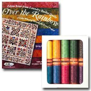 Aurifil Cotton Thread 50 Wt Over The Rainbow Small