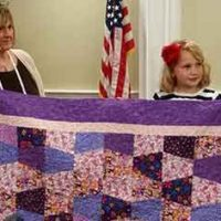 8yr Old Quilter and Former Foster Kid Pays It Forward