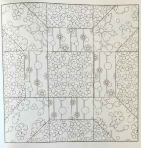 coloring book for quilters sample