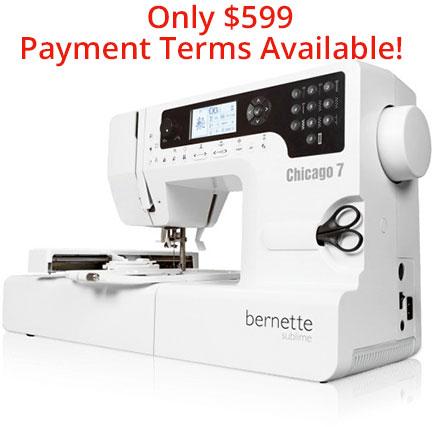 Bernina Chicago 7 Sewing Machine